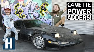 Kyle's C4 Corvette Gets Headers - Will it Sound Better?