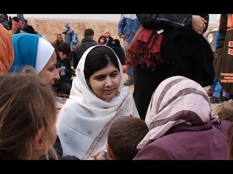 Jordan: Malala Yousafzai Witnesses Newly Arriving Syrian Refugees