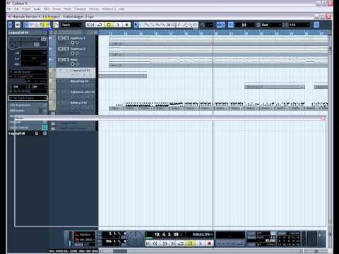 Как сделать басы в cubase