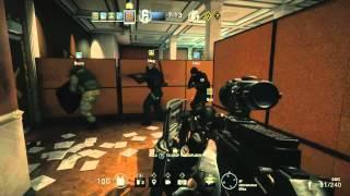 Rainbow Six Siege Multiplayer Live Gameplay E3 2015 Ubisoft Conference UbiE3