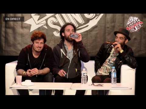 Conférence de presse : City Kay - Reggae Sun Ska Festival 2015