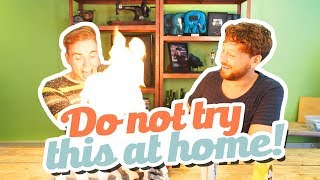 DO NOT TRY THIS AT HOME CHALLENGE!