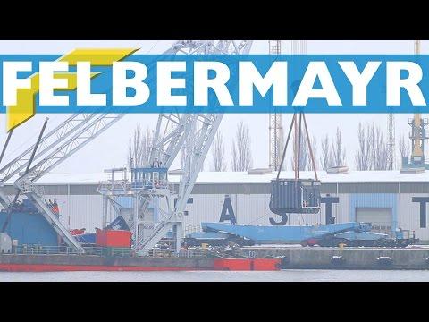 Felbermayr Schwertransport ABB Transformer Lodbrok Crane