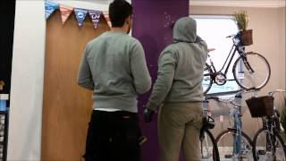 Liv Bikes get a lift at Giant Store Sheffield