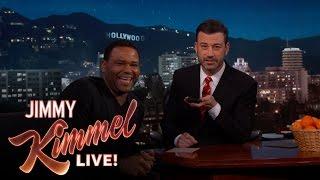 Jimmy Kimmel & Anthony Anderson Call Donald Trump & Oprah