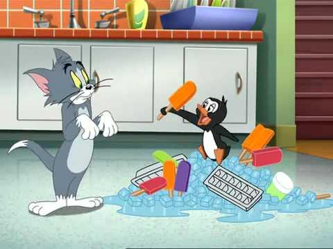 Tom si Jerry-Pinguinul cel flamand-Desene animate noi 2011 romanesti