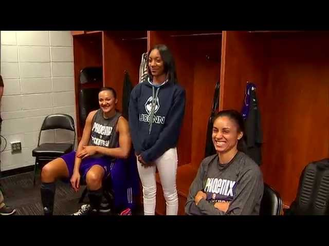 Little League Pitcher Mo'ne Davis Meets WNBA Players in Minnesota