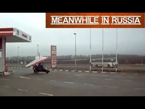Meanwhile At The Russian Gas Station