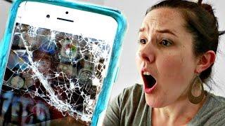 😩SMASHED iPhone!!!!