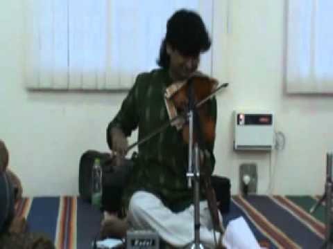 K.J.Dileep Solo violin disciple of M.S.Gopalakrishnan Anandabhairavi...