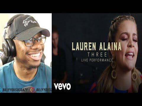 "Lauren Alaina - ""Three"" Official Performance Video | Vevo REACTION!"