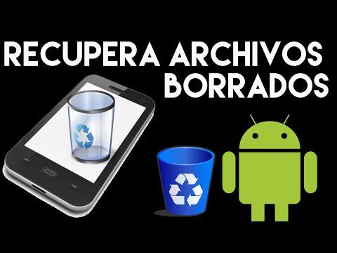 Recuperar archivos eliminados en Android | Papelera de reciclaje en Android