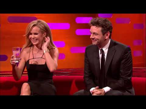Amanda Holden Does A Head Stand - The Graham Norton Show