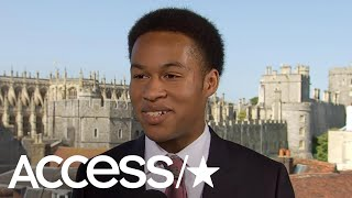 Royal Wedding Cellist Sheku Kanneh Mason On How Hands On Prince Harry Was With The Music Access