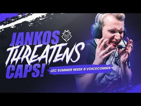 Download Jankos Threatens Caps! | LEC Summer Week 8 Voicecomms Mp4 baru