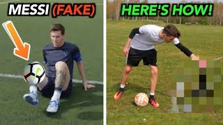 Footballers FAKED these Tricks & THIS IS HOW!!