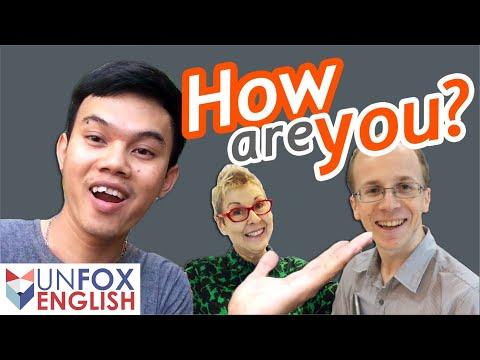 การทักทายภาษาอังกฤษ วิธีตอบคำถาม How are you? จะตอบว่าอย่างไร