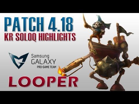 SG White Looper - Rumble vs Jayce - KR SoloQ Highlights