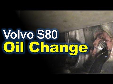 Замена масла Volvo S80, видео