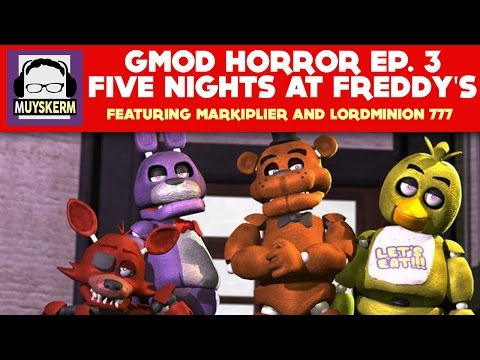 Gmod Horror | Five Nights at Freddy's | Featuring Mark and Wade