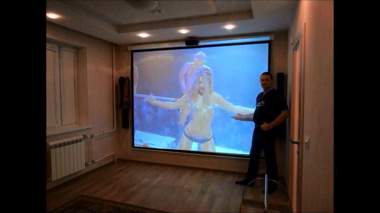 Как выбрать экран для проектора для домашнего кинотеатра