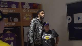Lakers Brandon Ingram Appearing At LA Store  - iFolloSports.com