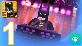 LEGO Batman Movie Game - Gameplay Walkthrough Part 1 - Batman (iOS, Android)