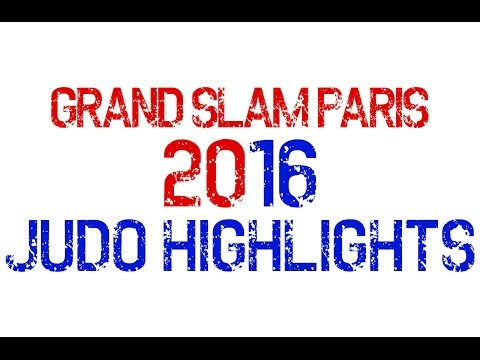 Grand Slam Paris 2016 - Gold Highlights for All Mens' Categories