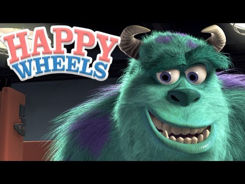 Happy Wheels - Monsters, Inc