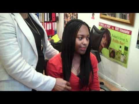 Learn Micro Braids with Kanekalon Extensions 2