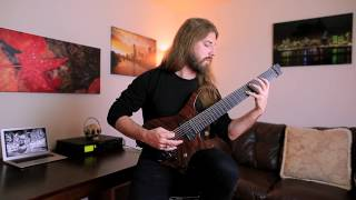 BEYOND CREATION Simon Girard - Abstrait Dialo (Guitar playthrough)