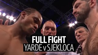 Full fight: Anthony Yarde v Nikola Sjekloća | Big knockout