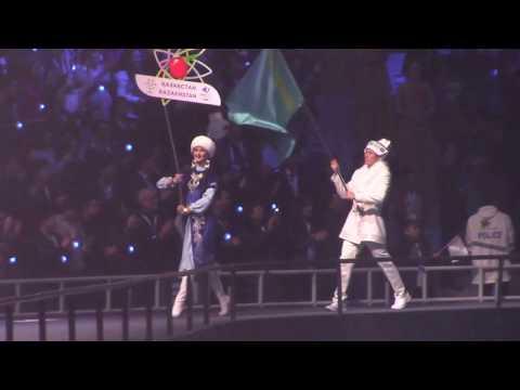 Как сборная Казахстана прошла на открытии Универсиады в Алматы