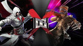 Ezio VS The Prince (Assassin's Creed VS Prince of Persia)  | DBX