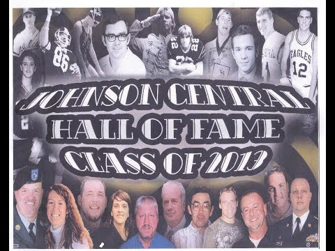 2013 Johnson Central High School Hall Of Fame