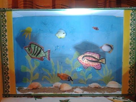 Рыбки для поделки аквариум 757
