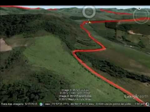 Passeio Virtual pelo Percurso da 3a COPA NORTE PIONEIRO DE MOUNTAIN BIKE
