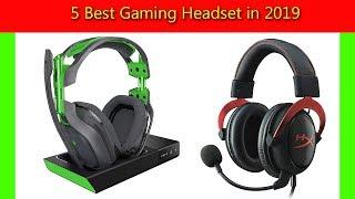 5 Best Gaming Headset in 2019