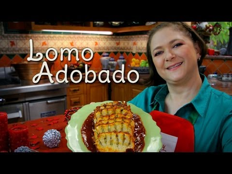 Lomo Adobado Relleno (Sin Horno) - Cocina Festiva: Sonia Ortiz