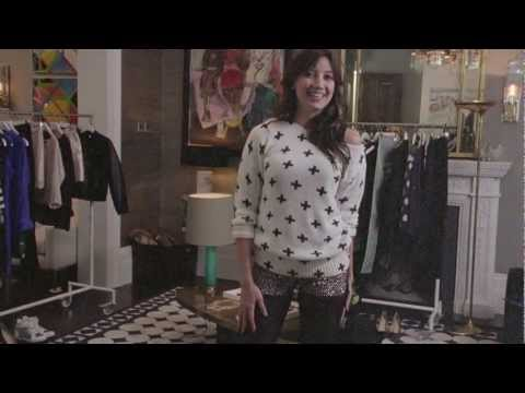Daisy Lowe's Party Season Favourites - H&M 2012