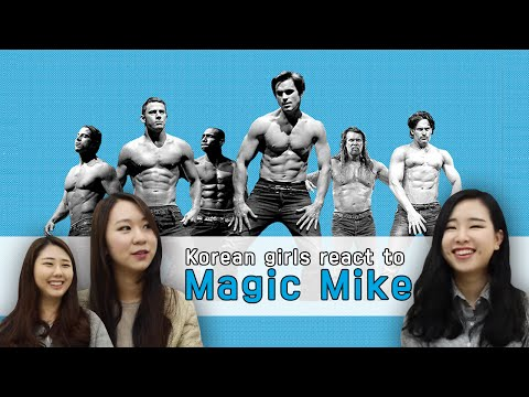 Korean Girls Are Introduced To 'magic Mike' video