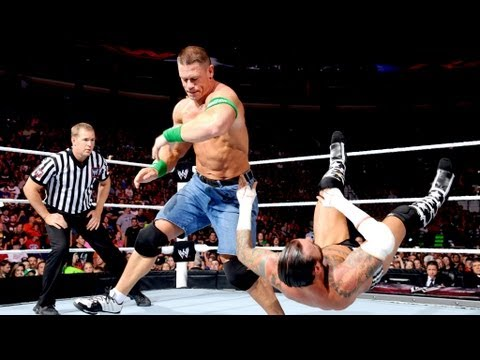 CM Punk vs. John Cena  WWE Championship Match: Raw. July 23. 2012