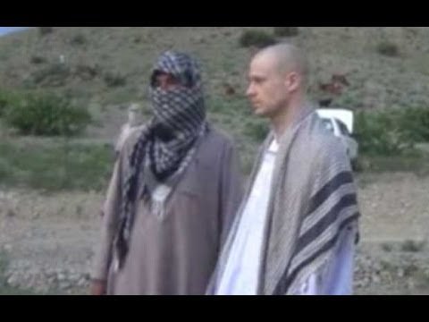 Bowe Bergdahl prisoner release: video shows Taliban handing over soldier
