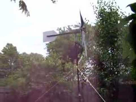 Home-built Wind Generator (6 Blade Design)