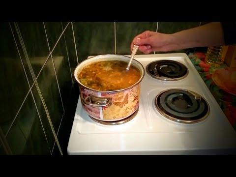 Вкусный Гороховый суп с копченостями рецепт Секрета приготовления обеда дома