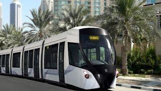 Al Sufouh Tram, Dubai, January 2015