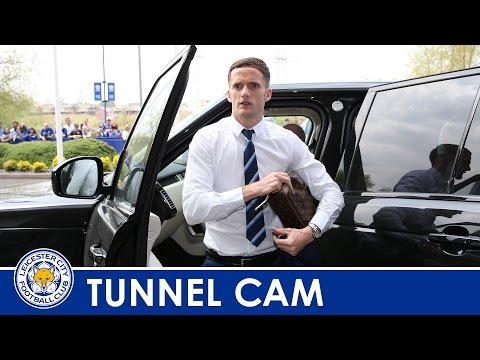 TUNNEL CAM | Leicester City Vs Everton 2015/16