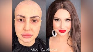 The Power of Makeup by Goar Avetisyan Fantastic Makeup Transformations