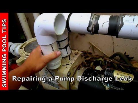 Repairing a Pump Discharge Leak