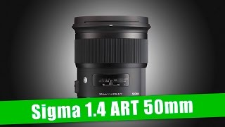 SIgma 50mm 1.4 ART UNBOXING FRENCH
